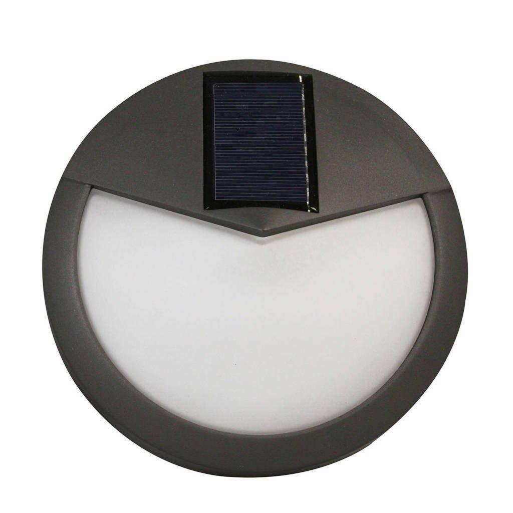 Luxform wandlamp solar Pasadena, Antraciet