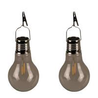Luxform solar lamp (set van 2), Transparant