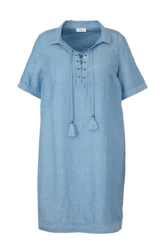 XL Yessica jurk met linnen