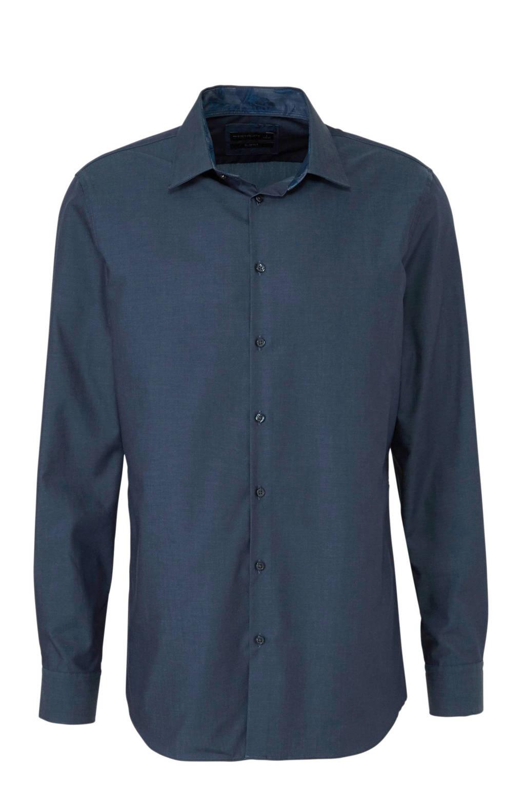Donkerblauw Overhemd.C A Overhemd Donkerblauw Wehkamp