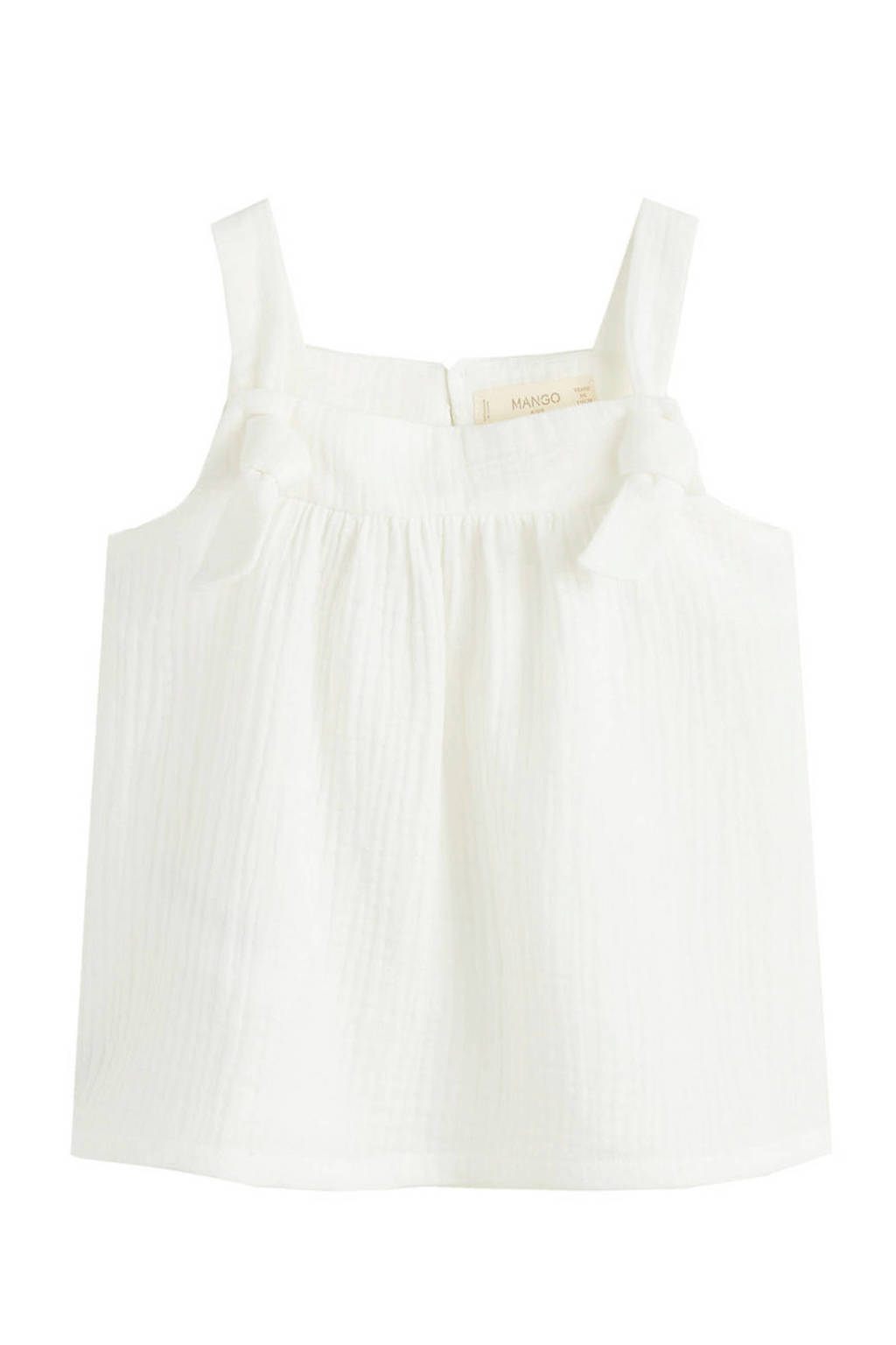 Mango Kids top wit, Wit