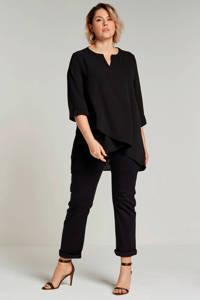 Zizzi slim fit 'emily' jeans, Zwart