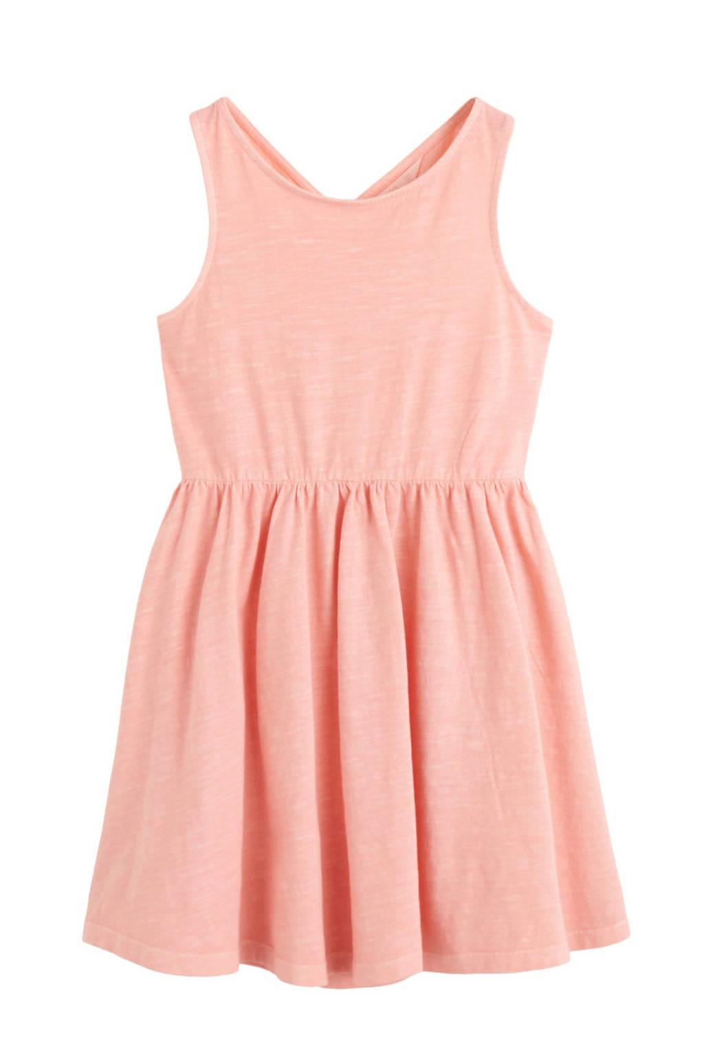 Mango Kids jurk roze, Lichtroze
