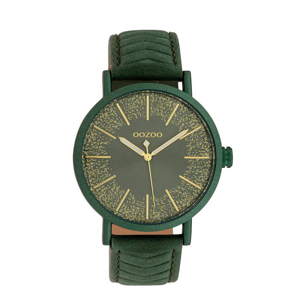 OOZOO horloge Timepieces C10148, Groen