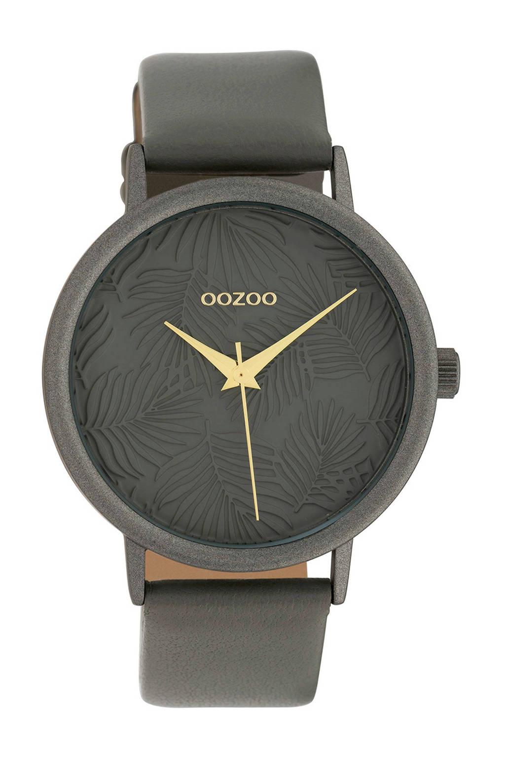 OOZOO  Timepieces grijs horloge C10084, Grijs