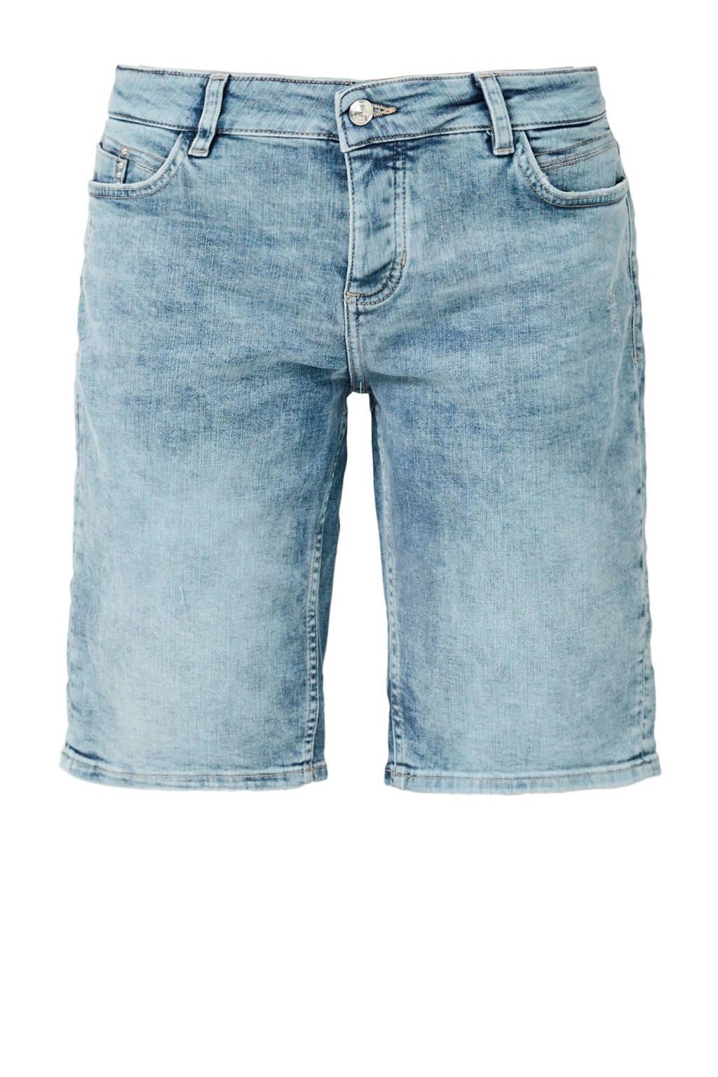 s.Oliver regular fit jeans short, Light denim
