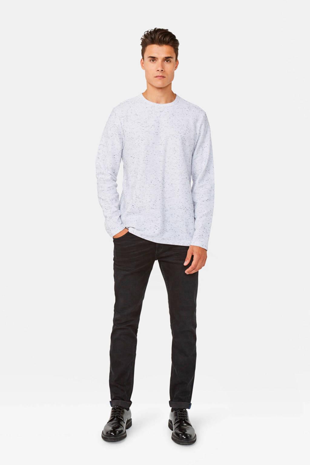 WE Fashion trui lichtgrijs/grijs, Lichtgrijs/grijs