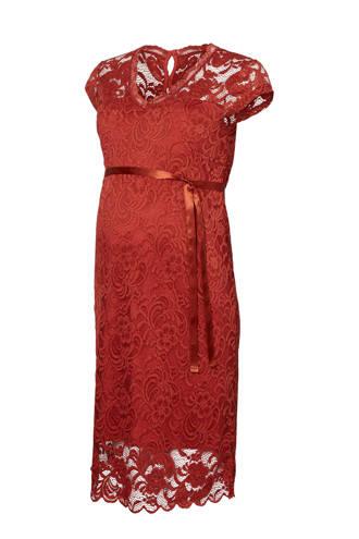 kanten zwangerschaps jurk New Mivana