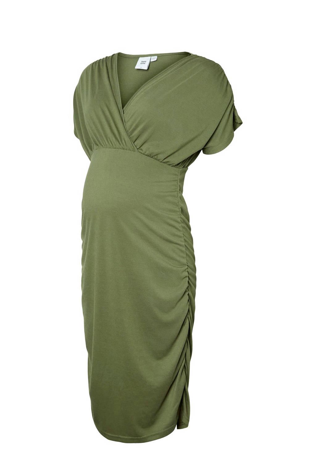 MAMA-LICIOUS zwangerschaps jurk Pilar, Groen