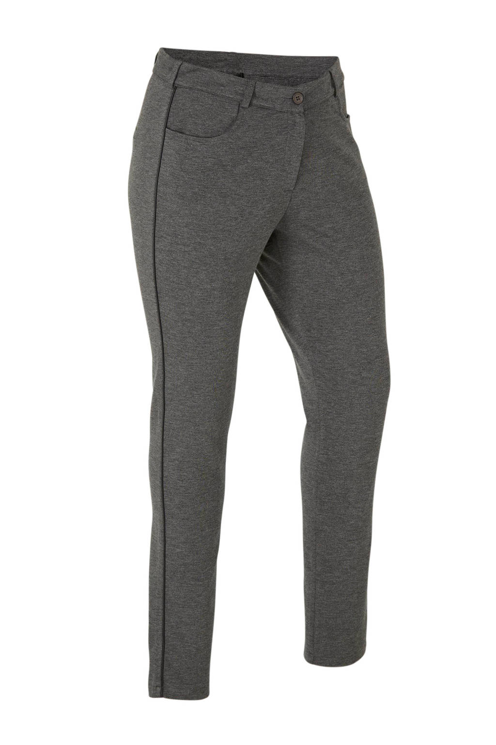 No Secret slim fit broek grijs, Grijs