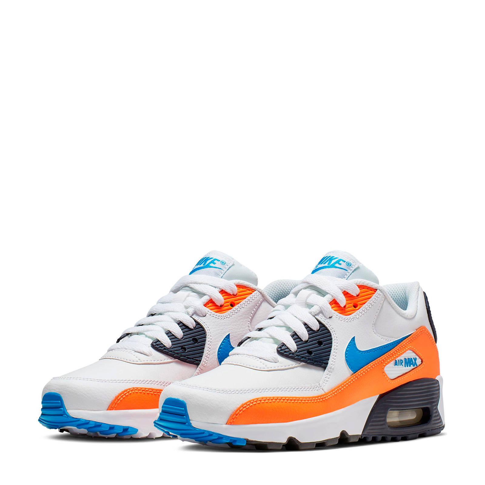 nike air max blauw oranje