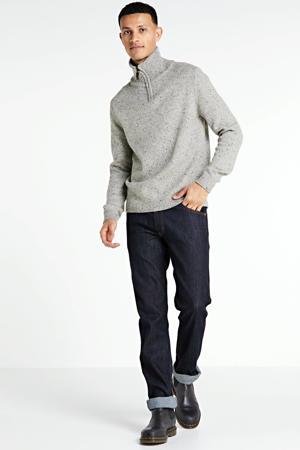 straight fit jeans Greensboro dark rinse