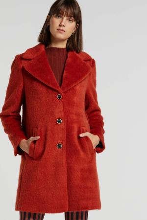 coat Isko Hairy rood