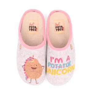HP 57058 pantoffels roze