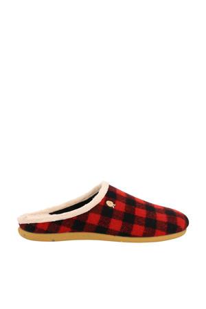 HP 56172 pantoffels rood/zwart