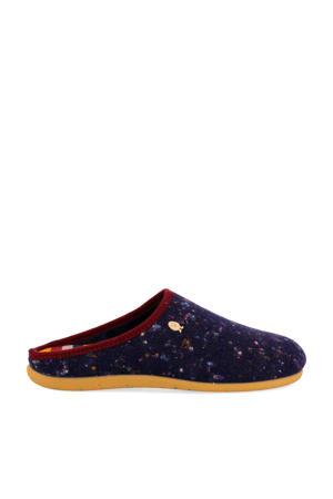 HP 57054 pantoffels donkerblauw
