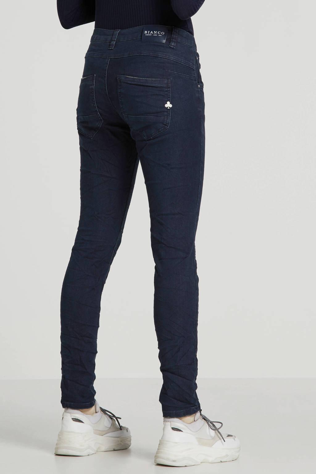 Bianco Jeans boyfriend jeans donkerblauw, Donkerblauw