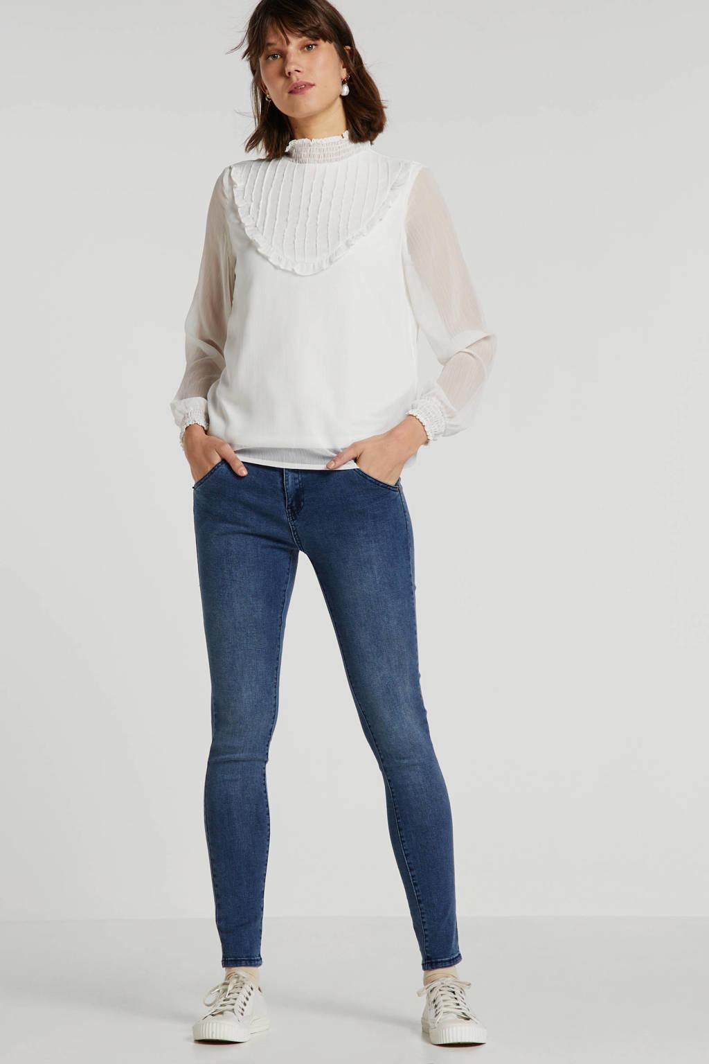 Bianco Jeans skinny jeans blauw, Blauw