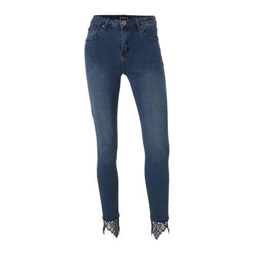 Bianco Jeans high waist skinny jeans Abai blauw