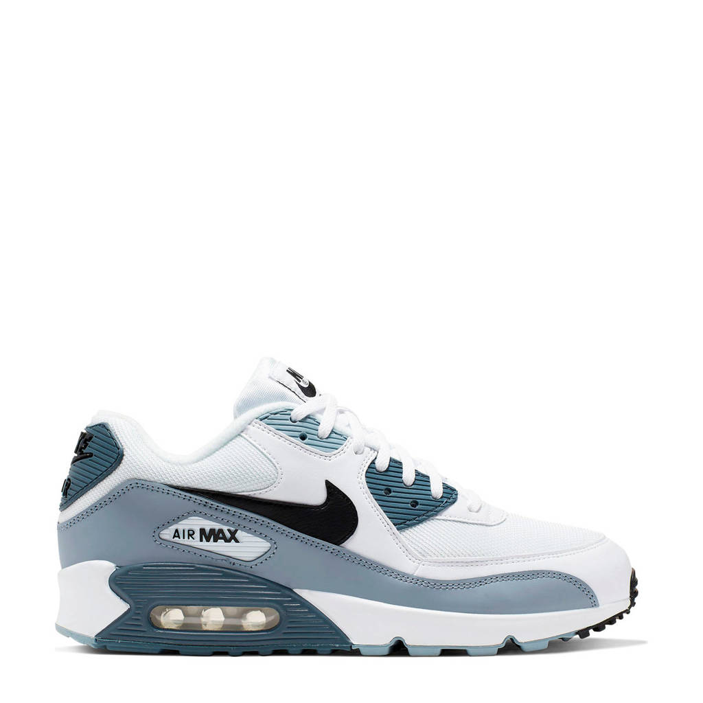 Nike Air Max 90 Essential sneakers wit/grijs, Wit/grijs