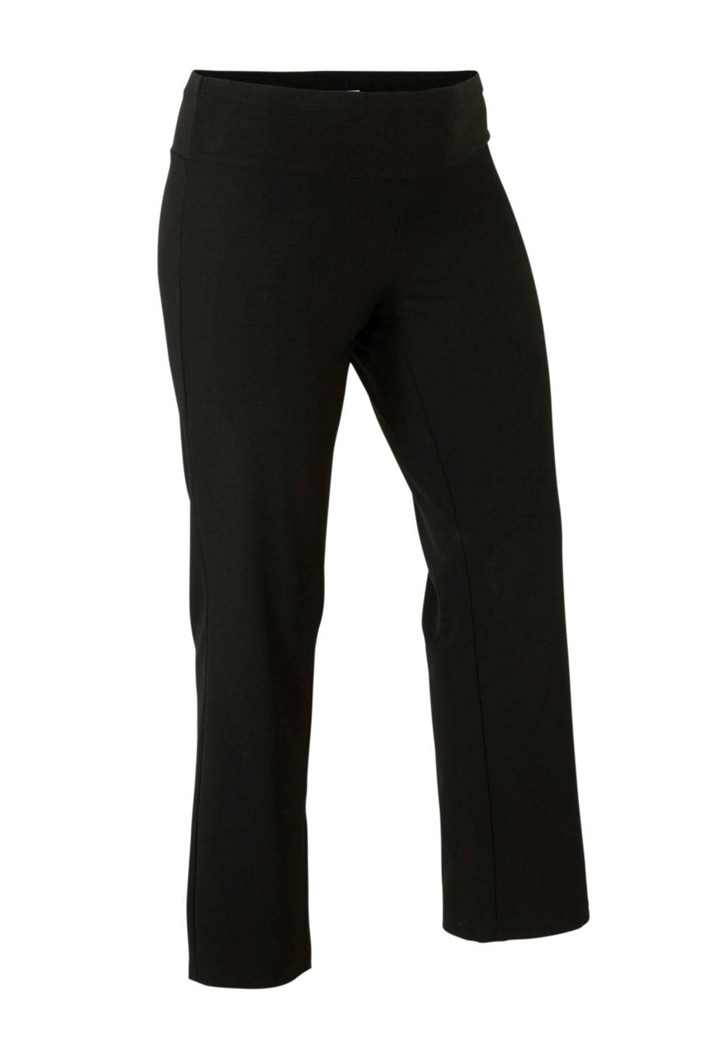 Yesta skinny broek zwart, Zwart