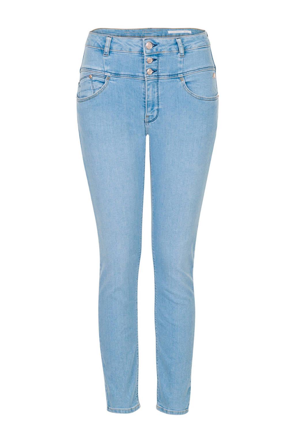 Miss Etam Regulier high waist skinny jeans, Blauw