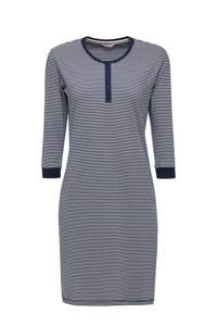 ESPRIT Women Bodywear gestreept nachthemd donkerblauw, Donkerblauw