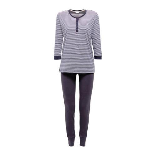 ESPRIT Women Bodywear pyjama donkerblauw