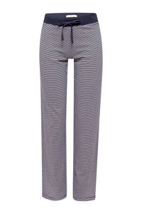 ESPRIT Women Bodywear gestreepte pyjamabroek donkerblauw, Donkerblauw