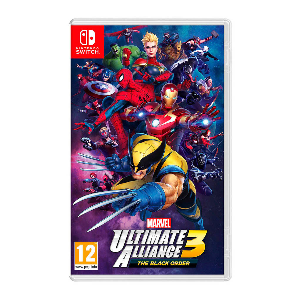 Marvel Ultimate Alliance 3: The Black Order (Nintendo Switch), -