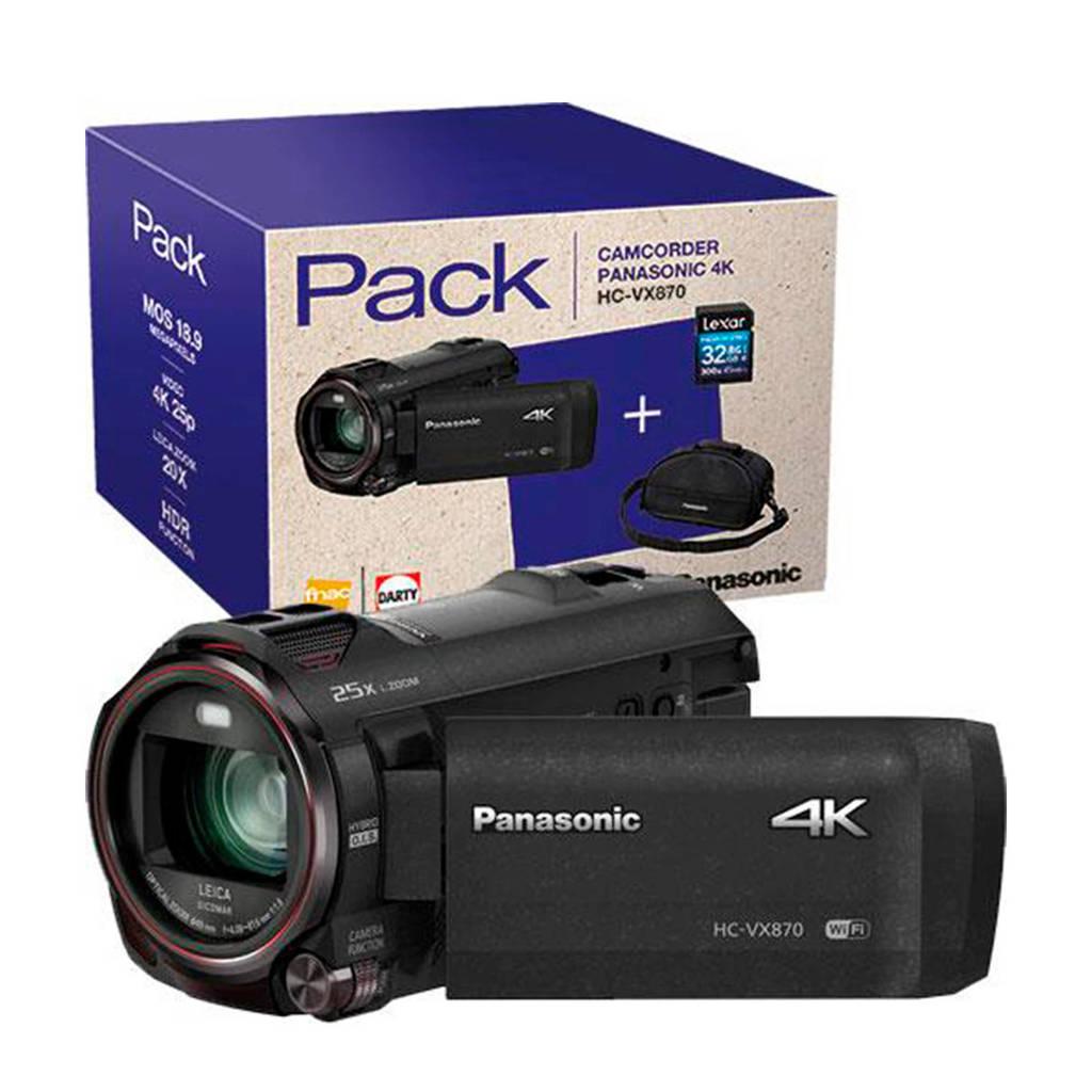 Panasonic HC-VX870 32GB PA camcorder, Zwart