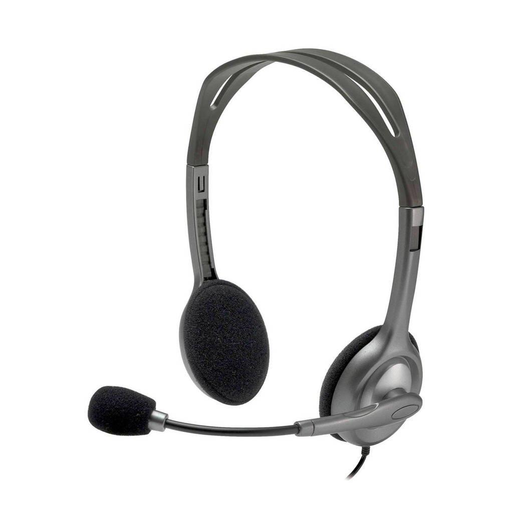 Logitech H111 gaming headset, Grijs