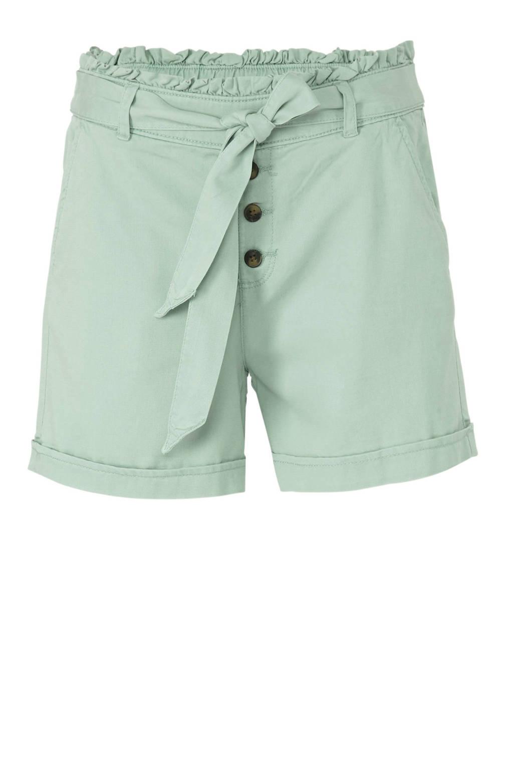 C&A Yessica high waist loose fit short mintgroen, Mintgroen