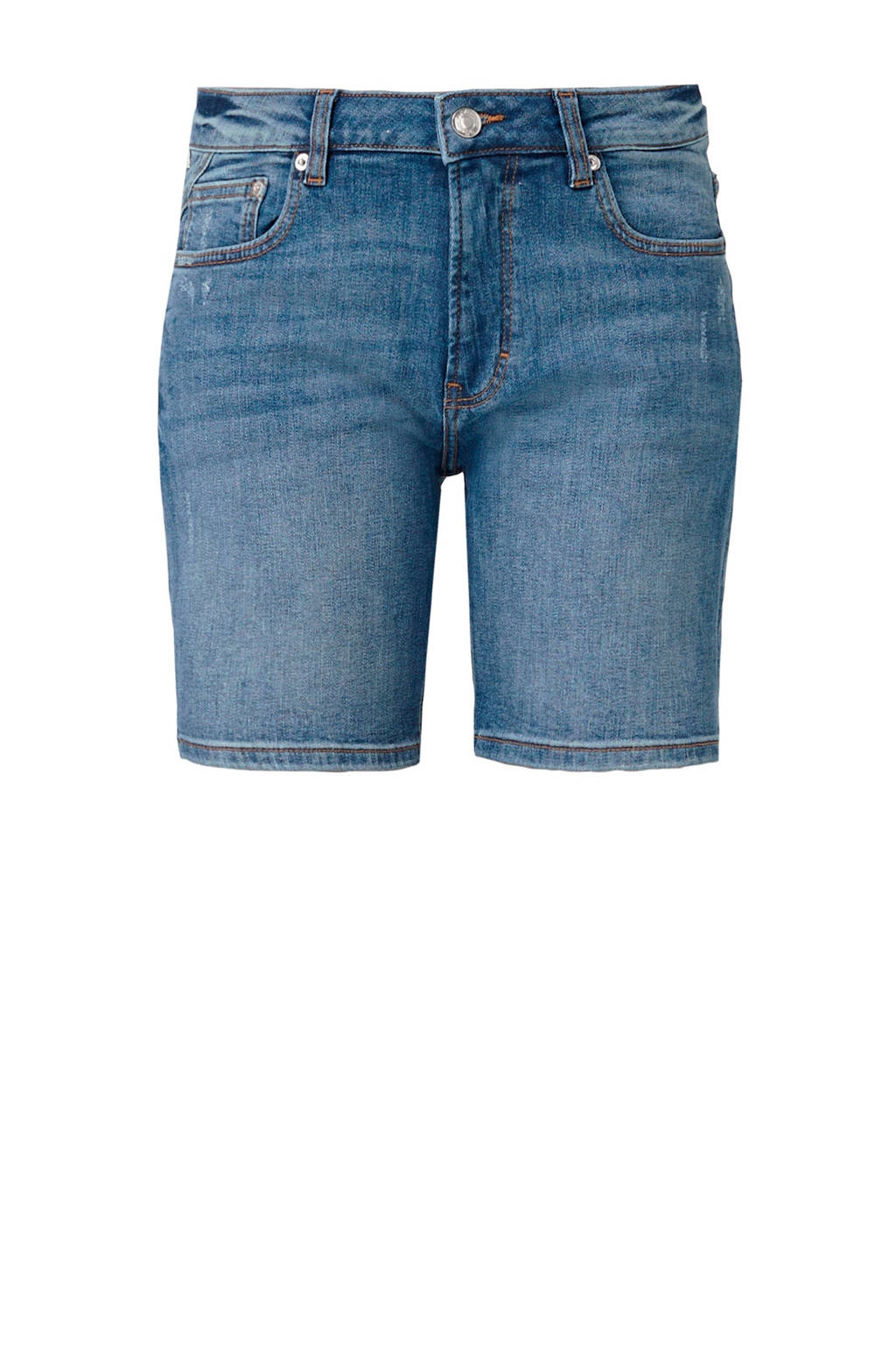 Q/S designed by slim fit jeans short, Stonewashed
