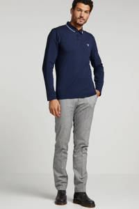 GUESS regular fit polo donkerblauw, Donkerblauw