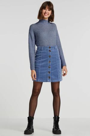 corduroy rok Tria  blauw