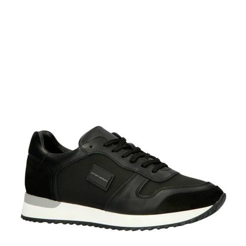 Antony Morato MMFW01219-LE500019 leren sneakers zw