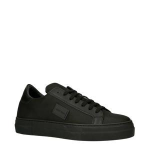 MMFW01217-LE500019 leren sneakers zwart