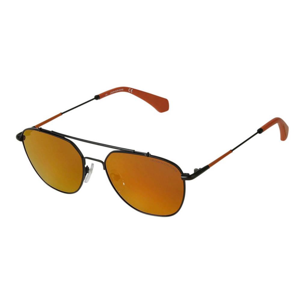 CALVIN KLEIN JEANS zonnebril CKJ165S, Zwart