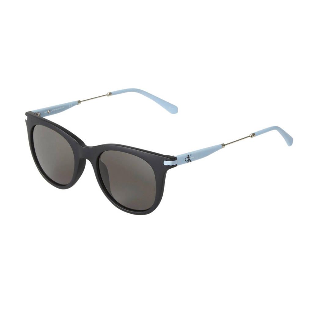 CALVIN KLEIN JEANS zonnebril CKJ19701S zwart/lichtblauw