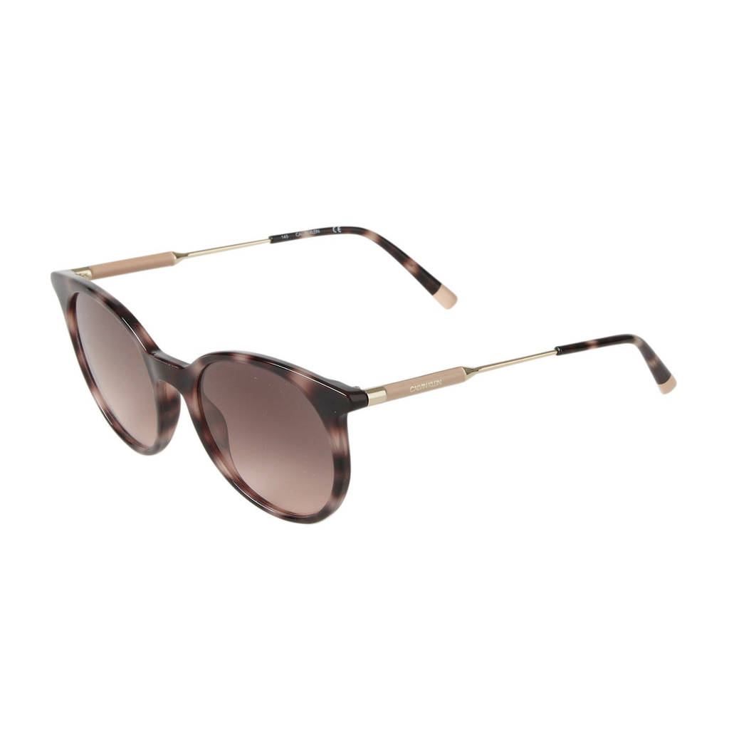 CALVIN KLEIN zonnebril CK3208S, Roze/bruin