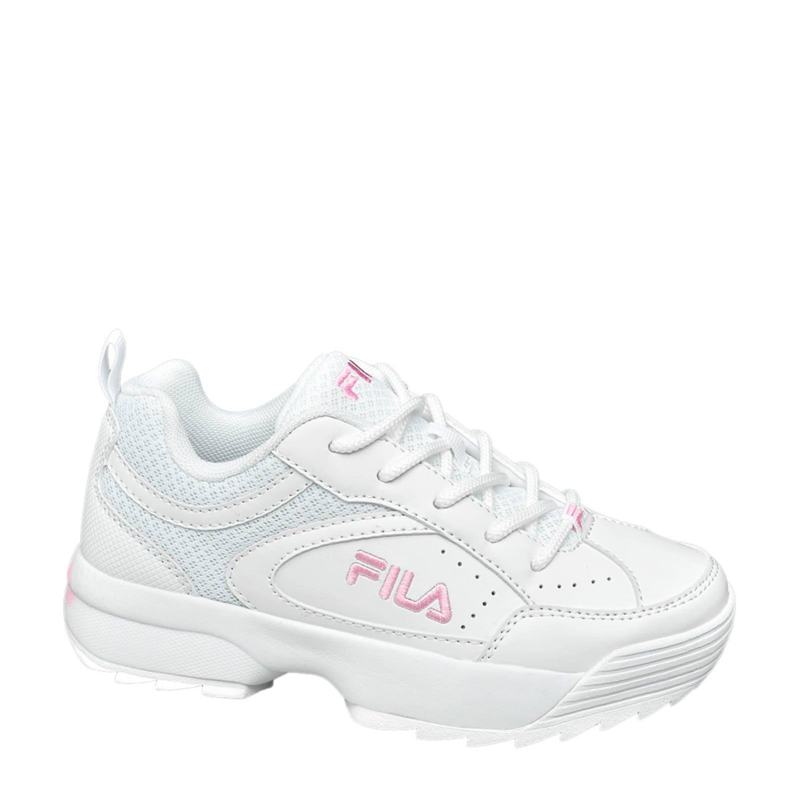 fila schoenen roze wit
