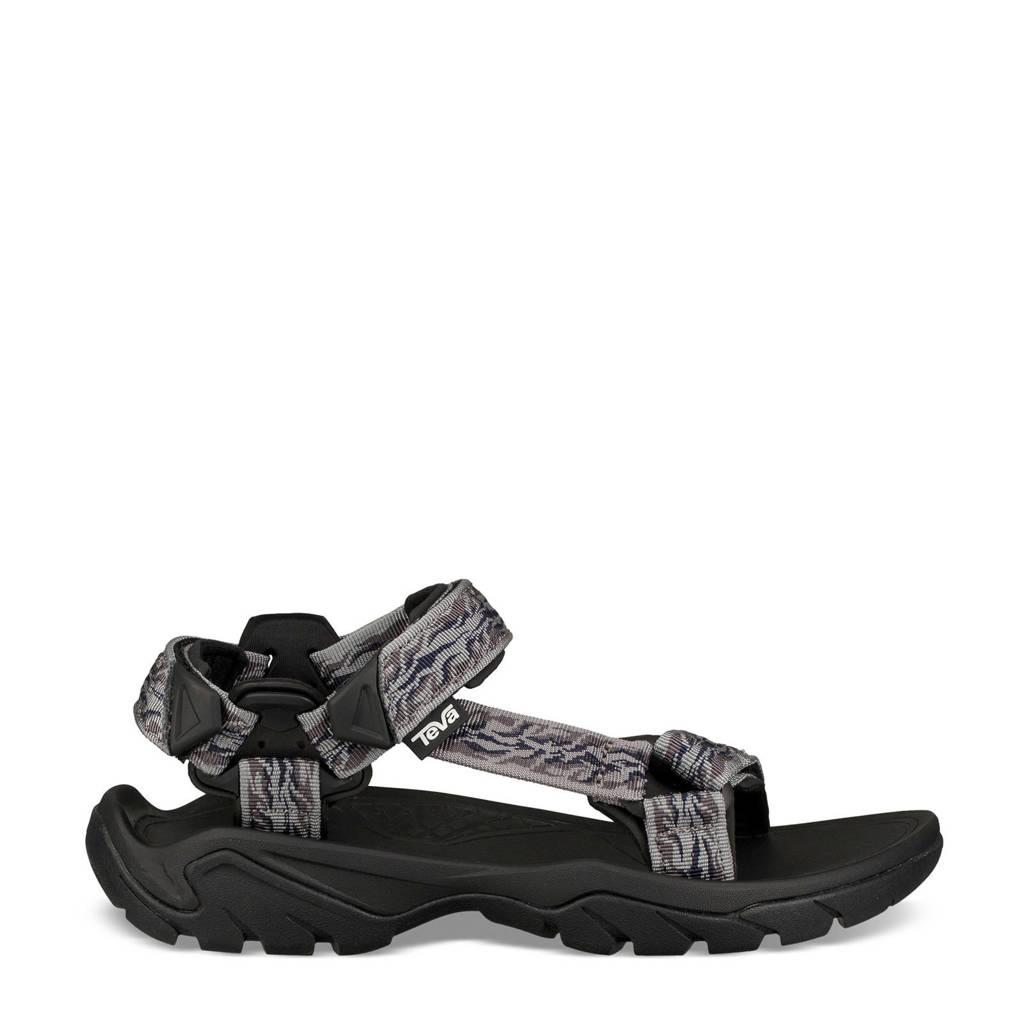 Teva  Terra Fi 5 Terra Fi 5 Universal Leather outdoor sandalen grijs, Grijs