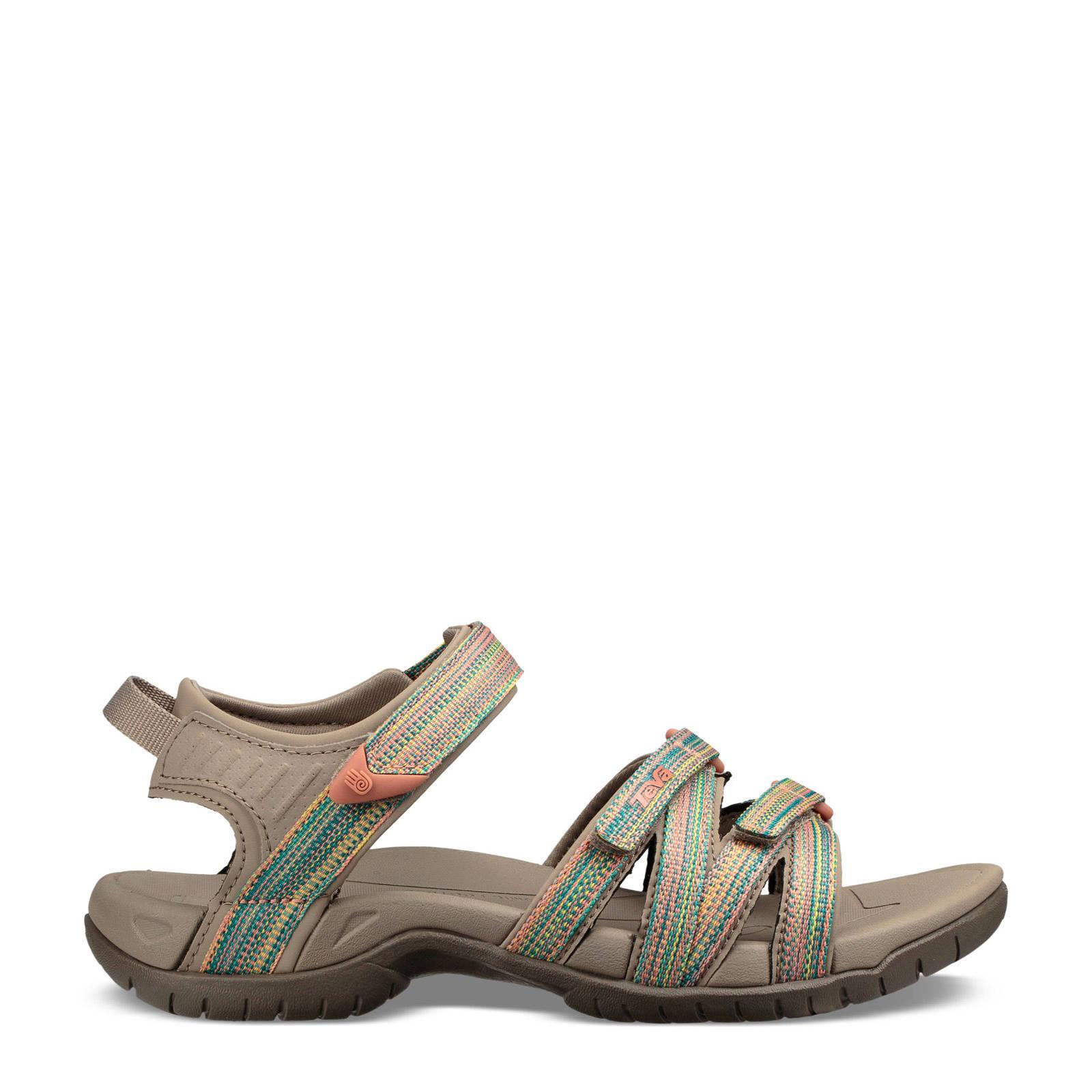 Teva Tirra outdoor sandalen taupe online kopen