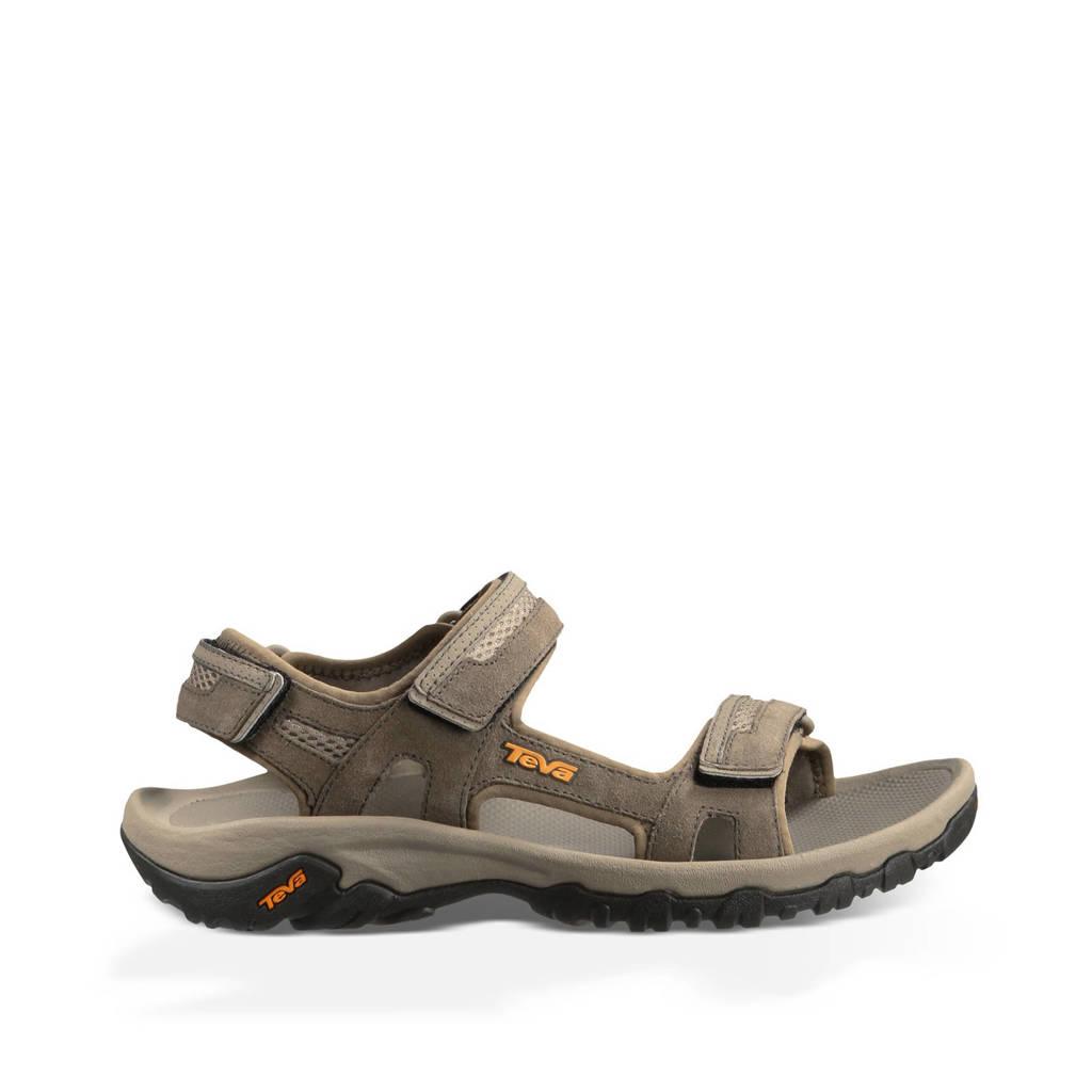 Teva   Hudson outdoor sandalen olijfgroen, Olijfgroen