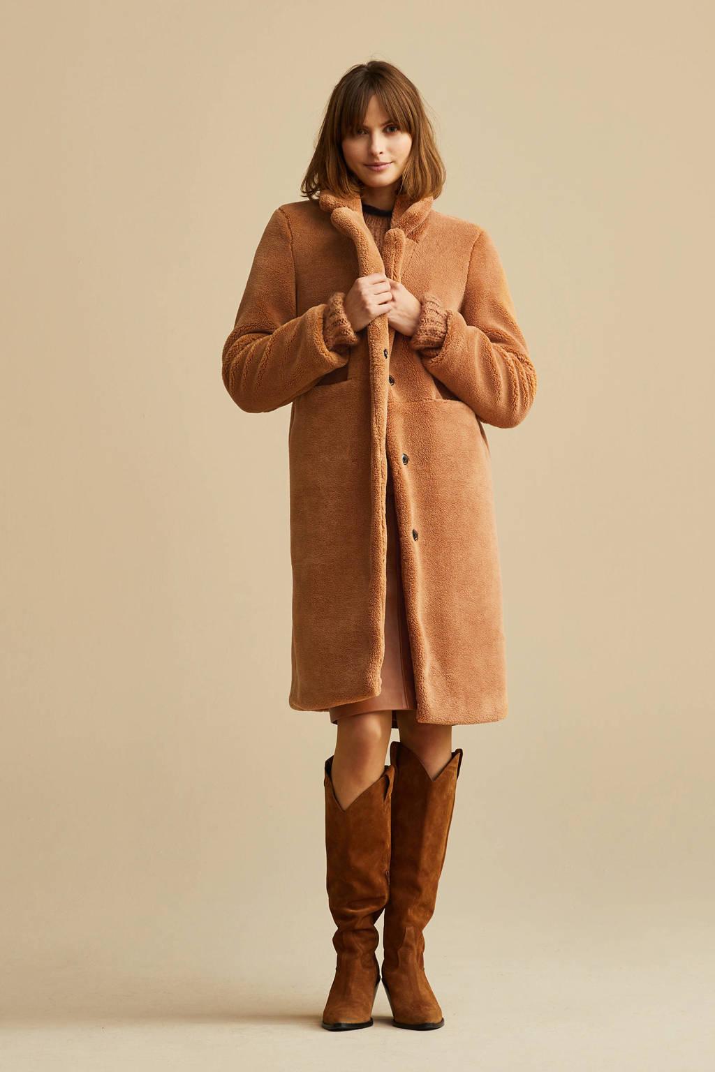 VERO MODA coat bruin, Bruin