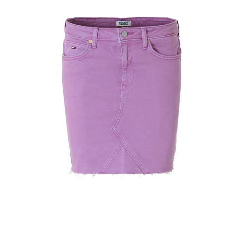 Tommy Jeans spijkerrok paars