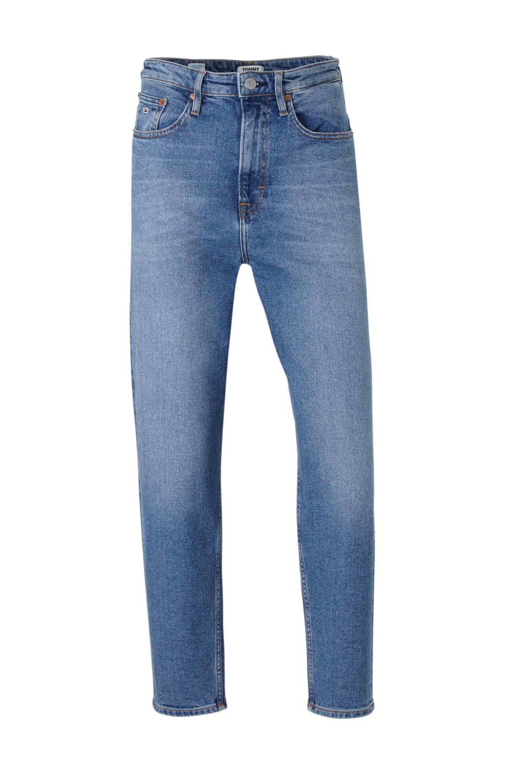 Tommy Jeans high waist tapered fit jeans, Blauw