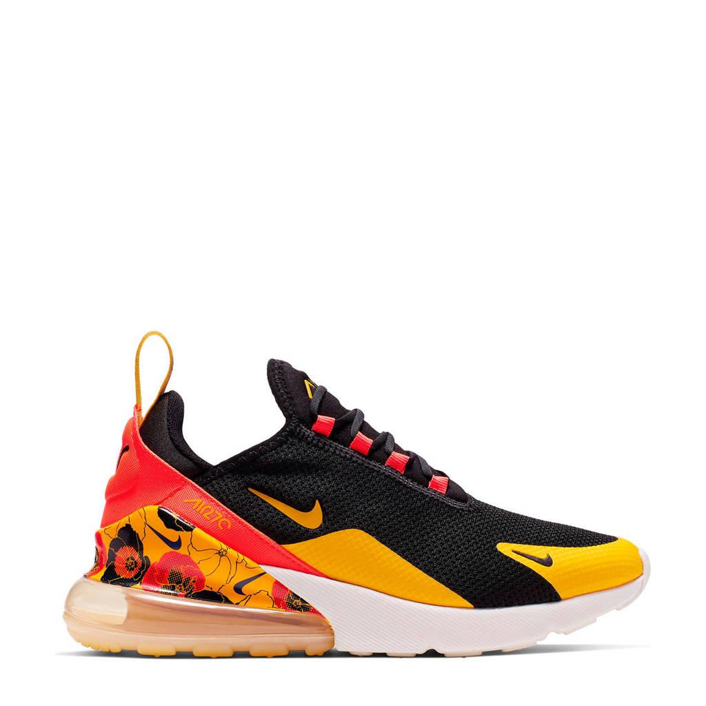 Nike  Air Max 270 SE sneakers zwart/geel/rood, Zwart/geel/rood