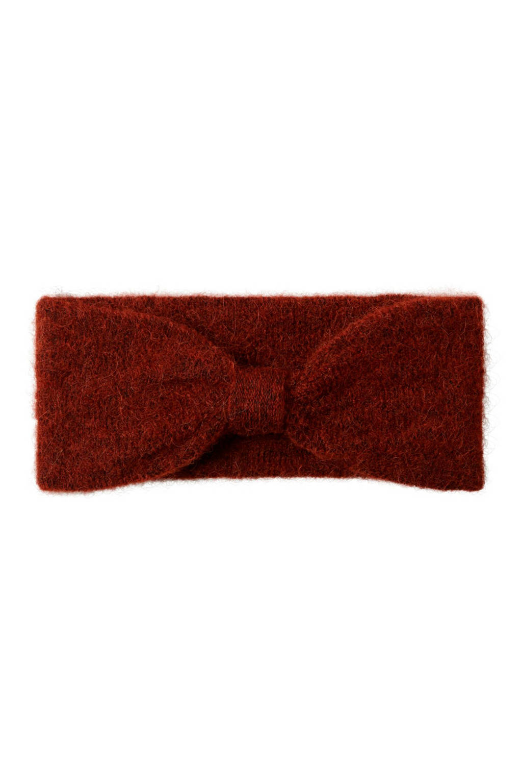 PIECES haarband donkerrood, Rood